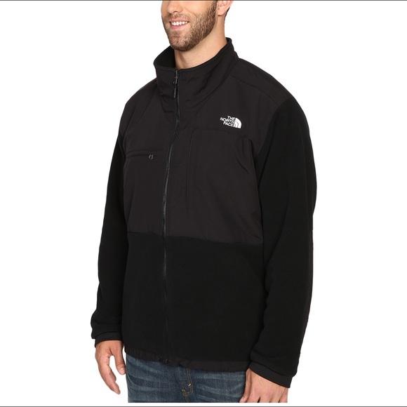 5e3cf11cc North Face - Black Men's Denali jacket (Small)